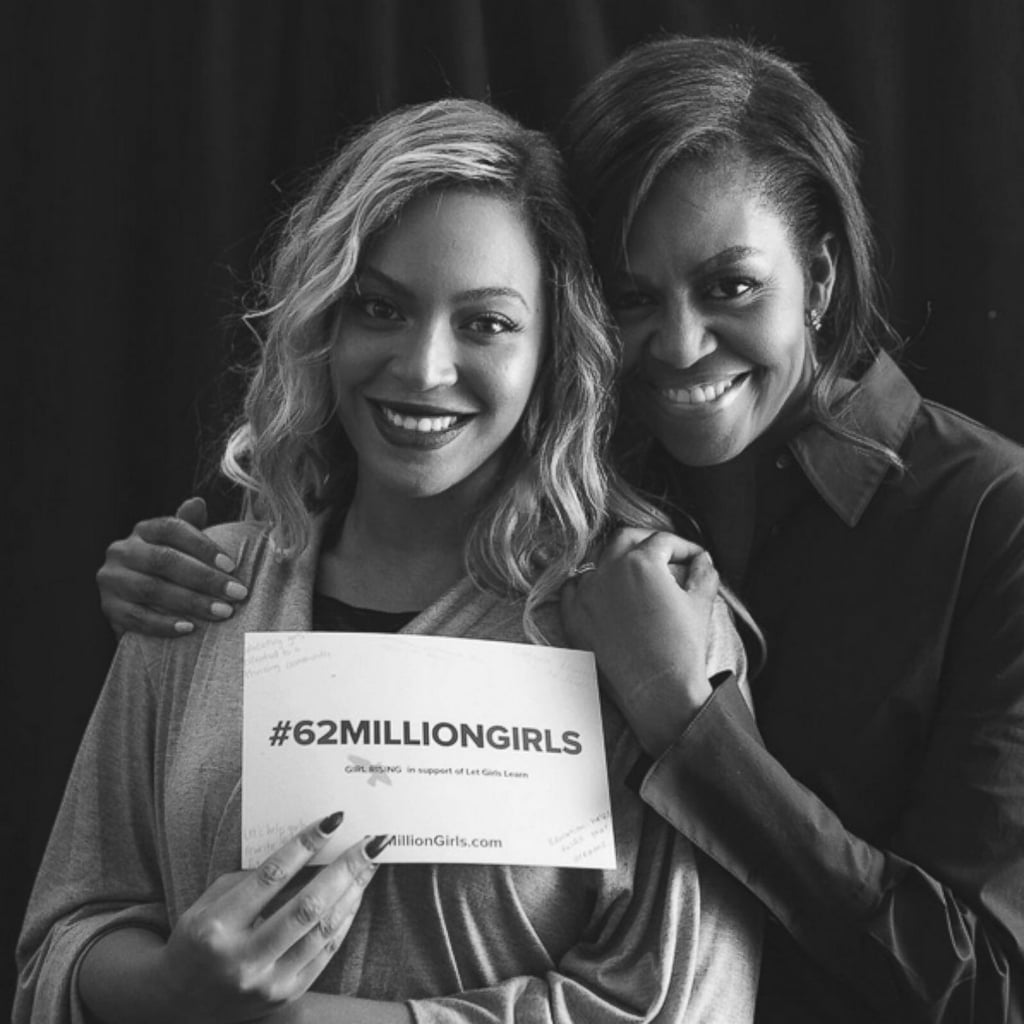 Pictures Of Beyonce And Michelle Obama Popsugar Celebrity