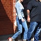 Selena Gomez Red Heels in New York City