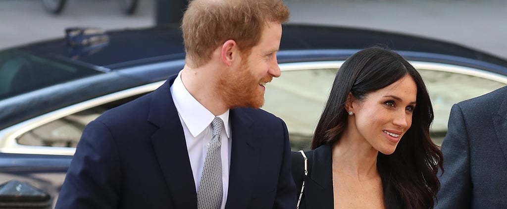 Prince Harry and Meghan Markle at Invictus Games Reception