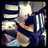 Warm Milk's Pack and Sack Pals are combination backpacks and nursing pillows so nursing moms can get comfortable without lugging their nursing pillows with them.