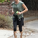 Julie Bowen went for a run around LA on Tuesday morning.
