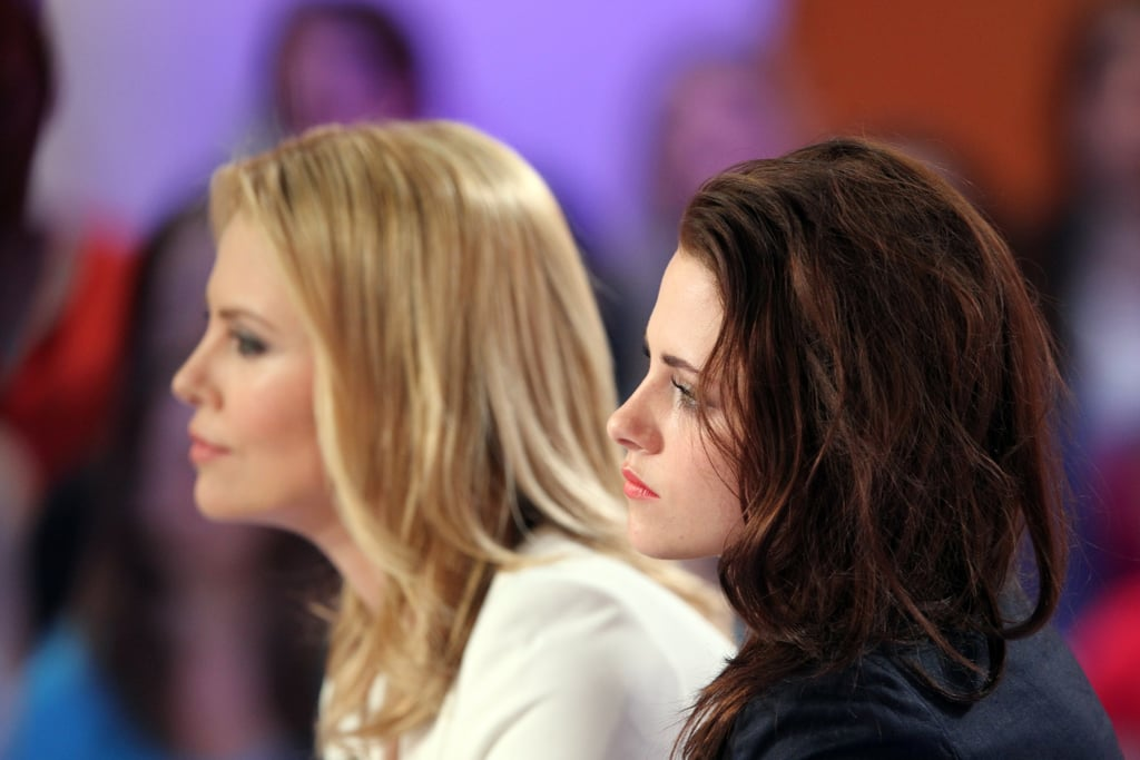 Kristen Stewart and Charlize Theron were interviewed on Le Grand Journal.