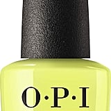 OPI Summer 2019 Neon Nail Polish in Pump Up the Volume