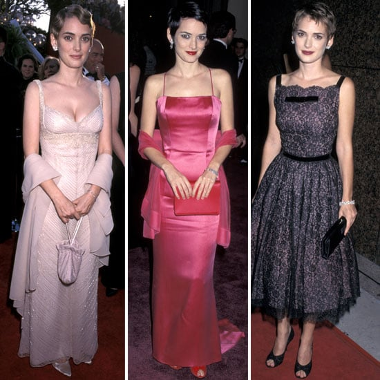 Winona Ryder Red-Carpet Looks