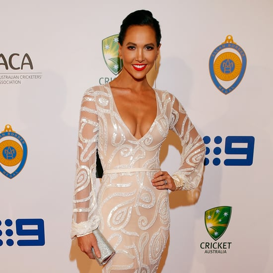 Allan Bolder Medal WAGS Red Carpet Dresses 2016