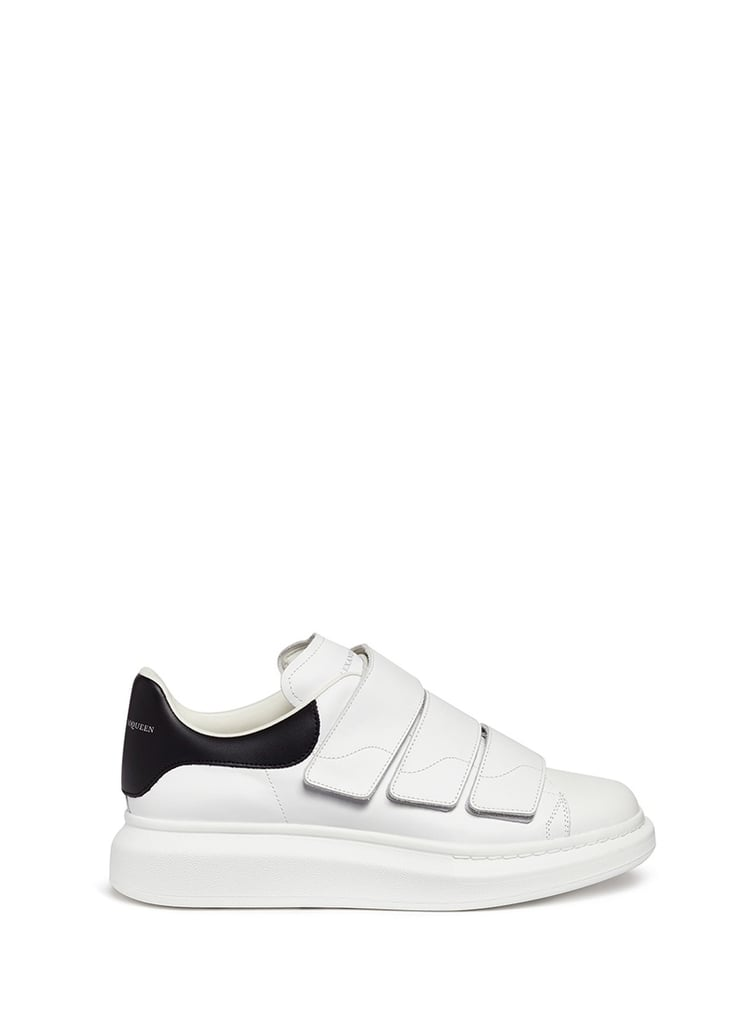 Alexander McQueen White Straps Oversized Sneakers
