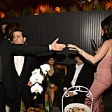 January 2016: Katy and Orlando Dance at a Golden Globes Afterparty