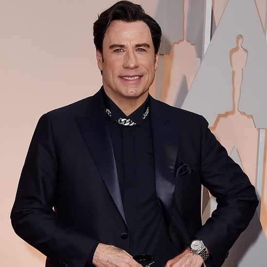 John Travolta and Benedict Cumberbatch Meme From 2015 Oscars