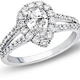 Zales Pear-Shaped Diamond