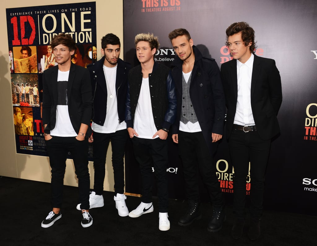 The guys of One Direction attended the NYC premiere of their movie.