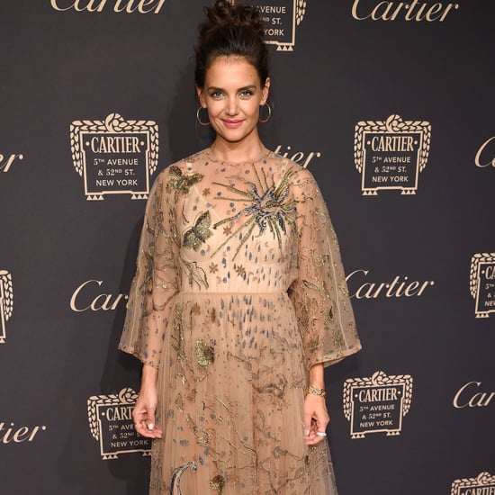 Katie Holmes's Dress at Cartier Party NYC 2016