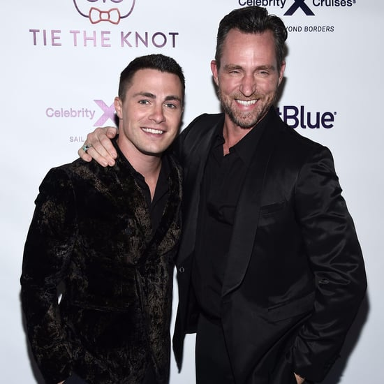 Colton Haynes and Jeff Leatham Married