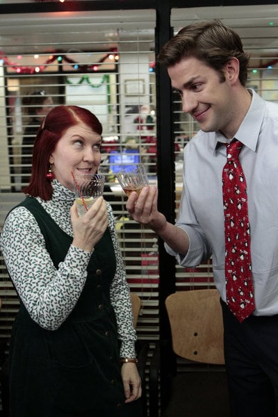 the office christmas pictures popsugar entertainment - The Office Christmas