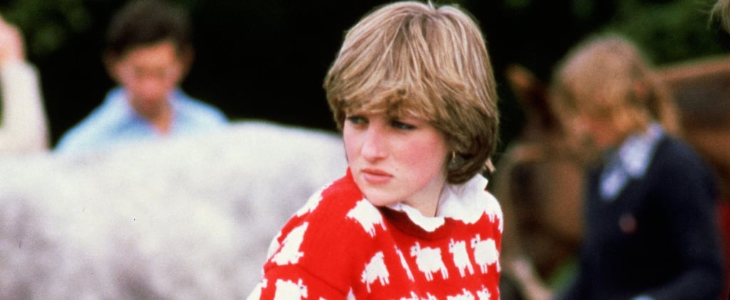 You Can Buy Princess Diana's Black Sheep Sweatshirt