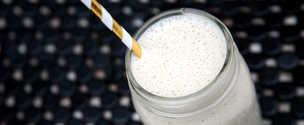 Low-Sugar, High-Protein Banana Overnight Oats Smoothie