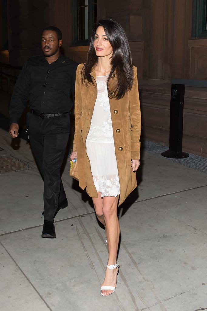 A Suede Natural-Toned Trench