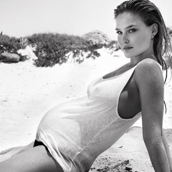 Bar Refaeli Baby Bump in a Bikini Instagram Photo 2016