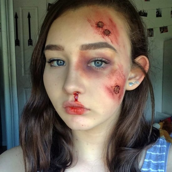 Halloween SFX Makeup by 13-Year-Old Artist