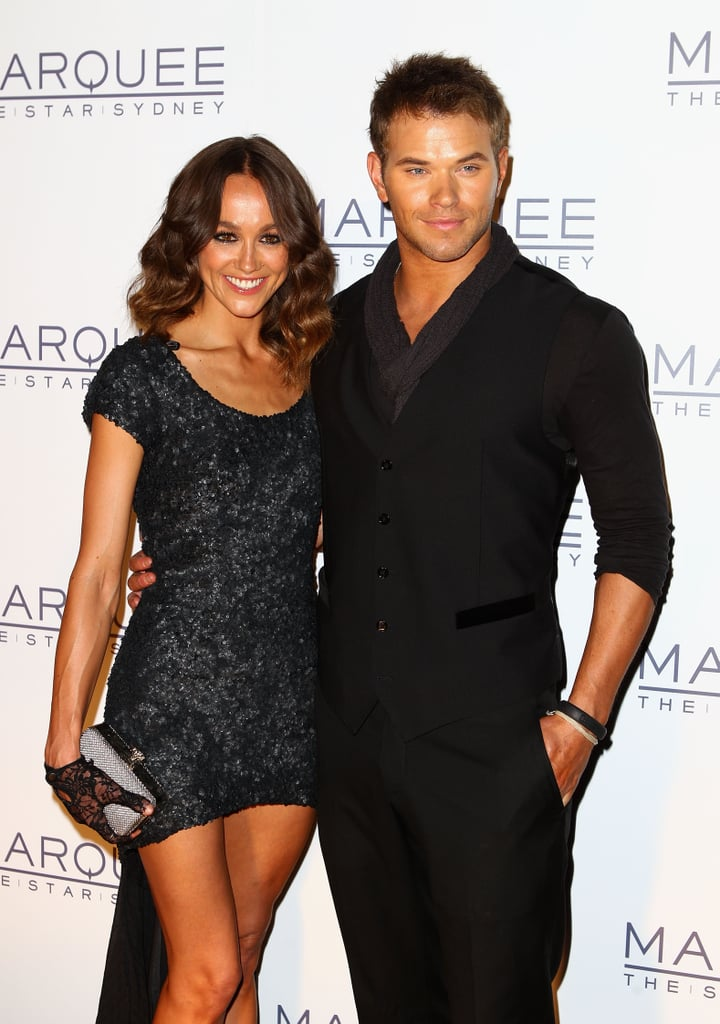 Sharni Vinson and Kellan Lutz
