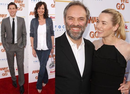 Photos of Kate Winslet, Sam Mendes, John Krasinski, Maya Rudolph, Allison Janney At Away We Go Screening In New York