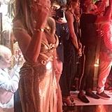 Jennifer Lopez's 50th Birthday Party Dress