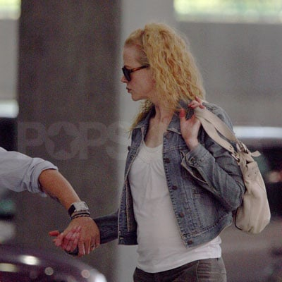 New Mom Nicole Kidman Out with Keith Urban