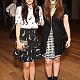Phoebe Stephens and Annette Stephens at Stefano Tonchi and Vionnet's Art Basel party.