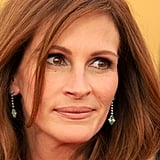 Julia Roberts's dainty drop Tiffany & Co. earrings were the perfect choice for accessorizing an unexpected jumpsuit.