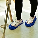 Floral Random Chenille Mop Slippers
