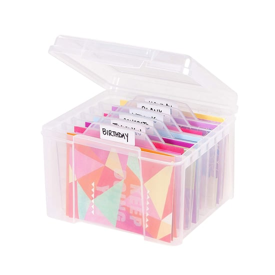 Greeting Card Organizer Tip