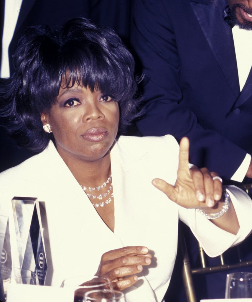 Oprah attended the Annual National Urban League Awards in 2002.