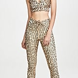 Year of Ours Leopard Print Victoria Bra and Football Leggings