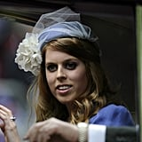4. Princess Beatrice's Netted Fascinator
