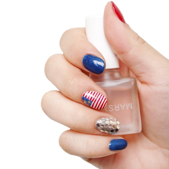 4th of july nail art popsugar beauty prinsesfo Images