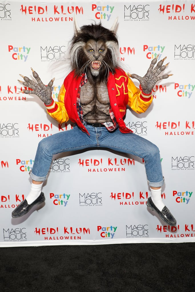 "Heidi Klum as Michael Jackson From the ""Thriller"" Music Video"