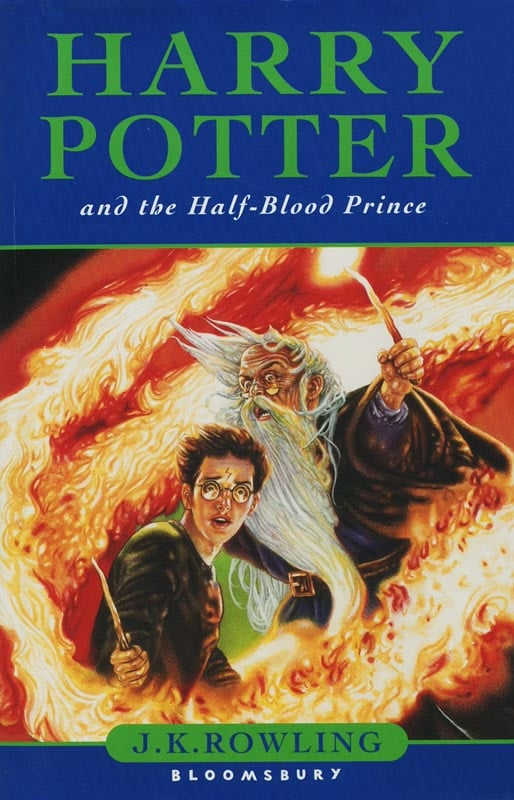 Harry Potter and the Half-Blood Prince, UK