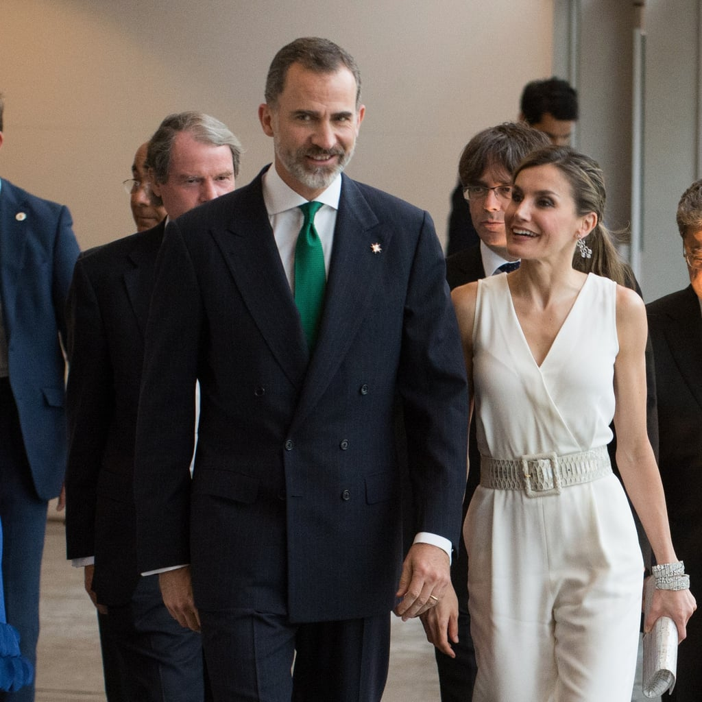 Queen Letizia Massimo Dutti Jumpsuit June 2017