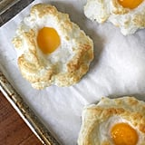 Cheesy Baked Egg Clouds