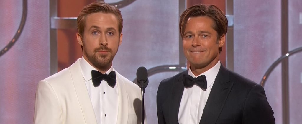 Ryan Gosling & Brad Pitt Put Their Bromance on Display