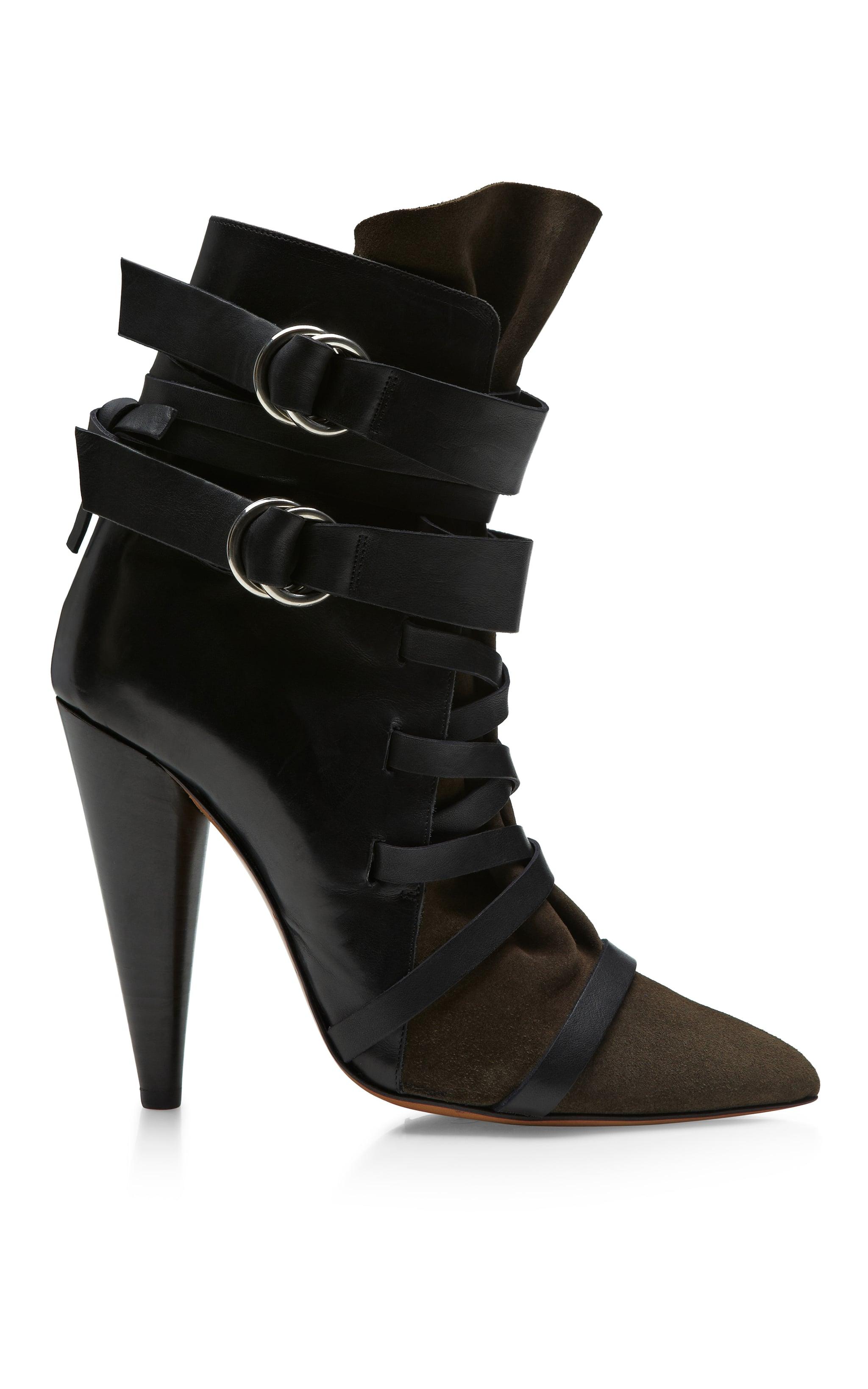 Isabel Marant Royston buckled boot ($1,315)