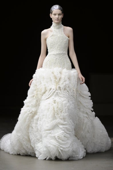 Alexander McQueen's White Fall 2011 Finale Gowns — A Preview of Kate Middleton's Wedding Dress?