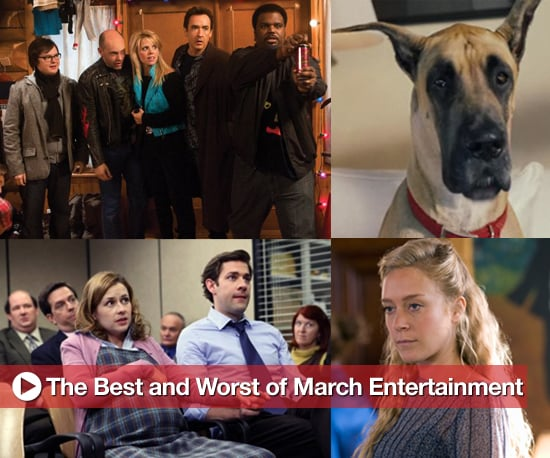 Best and Worst of Movies, TV, and Music in March