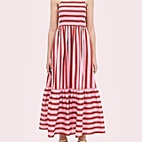 Calais Stripe Smocked Dress