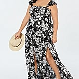 Raviya Printed Maxi Cover-Up