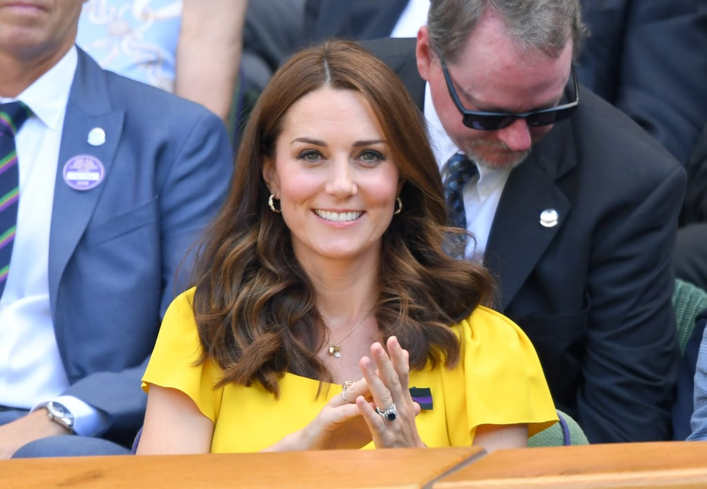 Kate Middleton's Bouncy Curls, 2018
