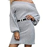 Glamaker Pullover Knit Dress