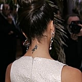 Jessica Alba Flower Tattoo
