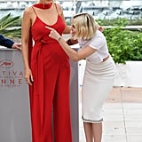 Blake Lively Kristen Stewart at Cannes Film Festival 2016