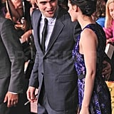 Robert Pattinson only had eyes for Kristen Stewart at the Breaking Dawn premiere.