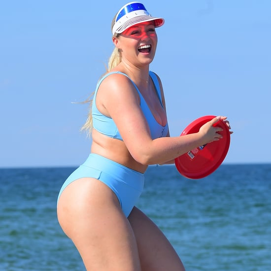 Iskra Lawrence in a Bikini at the Jersey Shore July 2019